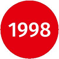 Jahreszahl 1998