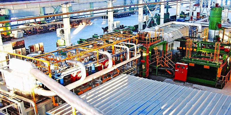 Blattfedernfabrik von Thyssenkrupp
