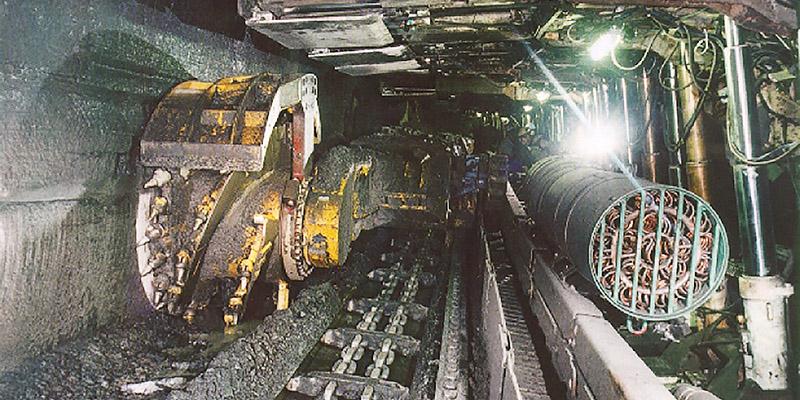 SPK Strebkühler im Kohlebergbau