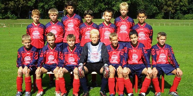 Jugendliches Fussballteam