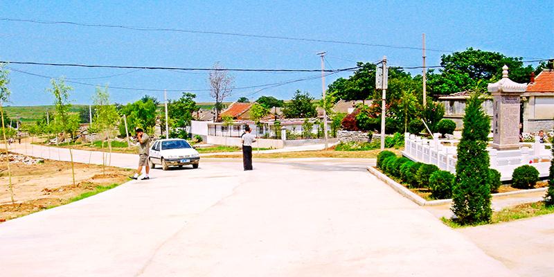 Straßenbauprojekt in Yantai