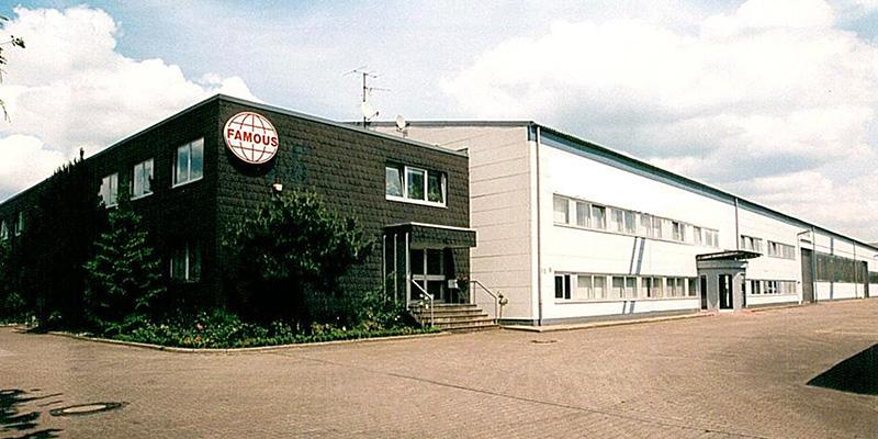 Altes Firmengelände der Famous Industrial Group in Bochum
